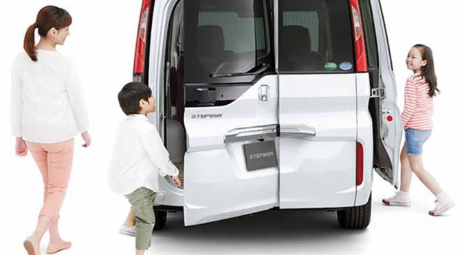 HONDA 新型ステップ ワゴンをホームページで先行公開