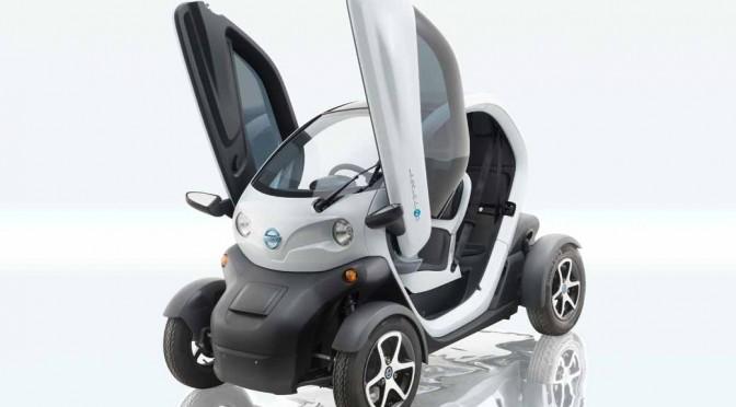 利用は20分までなら無料。日産、横浜大規模団地で超小型EVのカーシェアリング開始