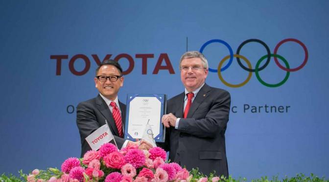 トヨタ自動車、IOCのTOPパートナーに決定