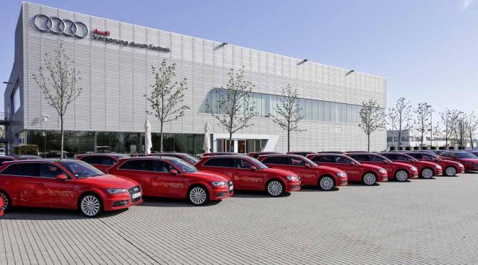アウディ、独PHV実験に40台のA3 Sportback e-tronで参加