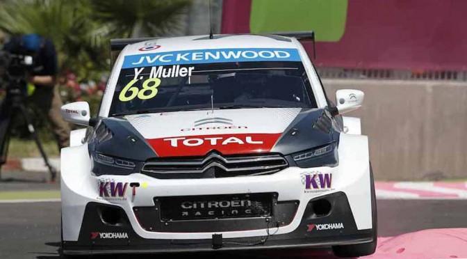 シトロエン、WTCC第2戦モロッコで表彰台を独占