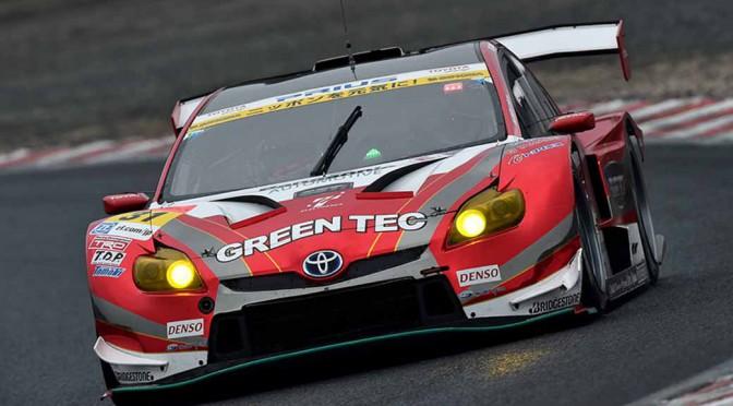 GT300 TOYOTA PRIUS apr GTがライバルを圧勝