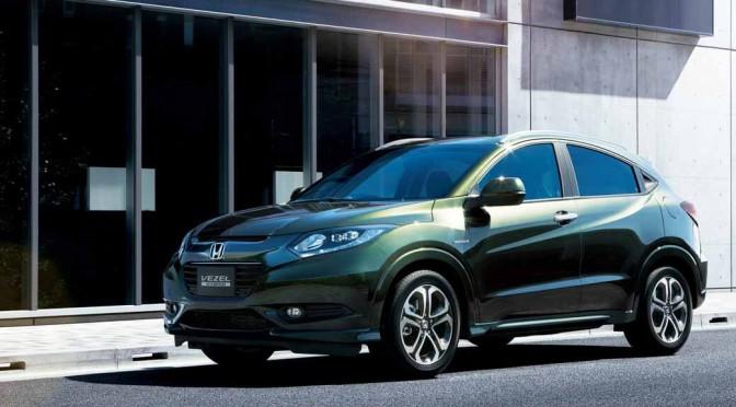 ホンダVEZEL、2014年度のSUV新車販売台数1位に