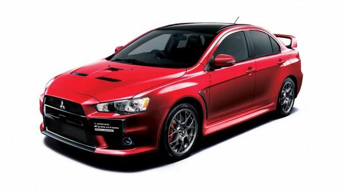 ランサーエボリューションX、最終モデル1000台の予約開始