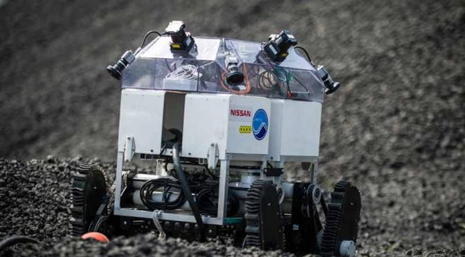 日産のアラウンドビューモニター技術が遠隔操作無人探査機に