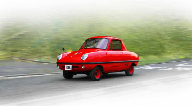 日産のこども自動車「ダットサン・ベビイ」、半世紀ぶりの復活を動画で取材