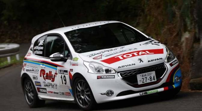プジョー 208 GTi、全日本ラリー選手権デビュー戦でクラス4位入賞