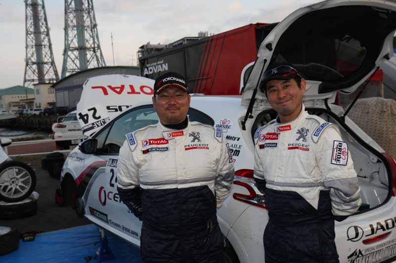 peugeot-208-gti-the-all-japan-rally-championship-class-fourth-in-debut20150413-4