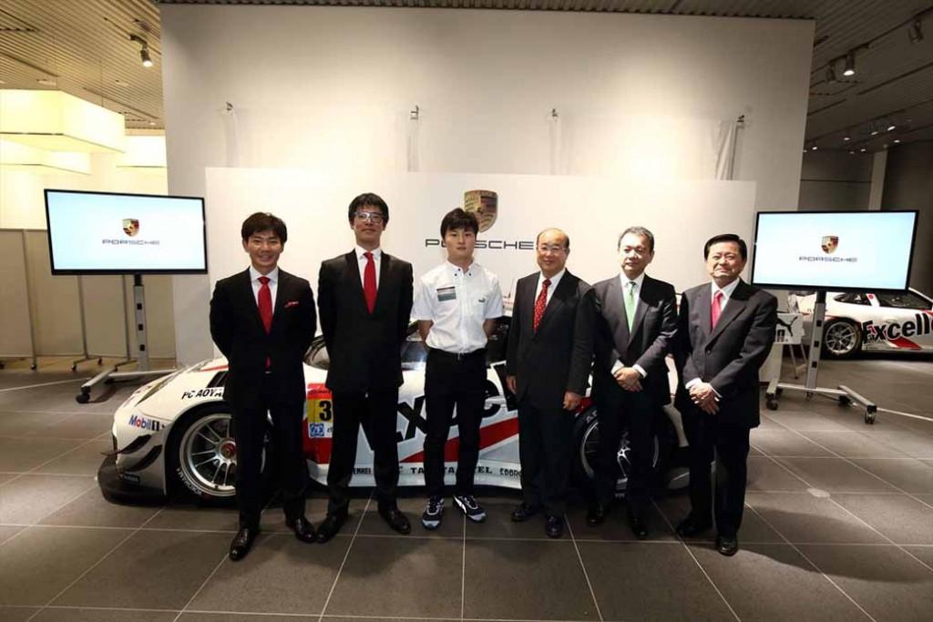 porsche-Japan-Super-gt-race20150321-1