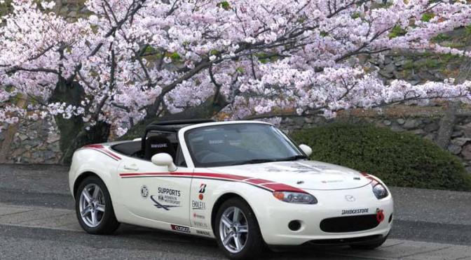 マツダ、デミオベースのモータースポーツ車両を初提案