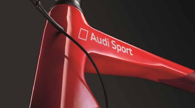 アウディ、超軽量Audi Sport Racing Bike日本初公開