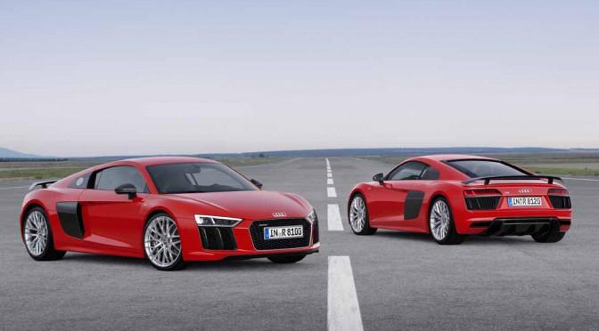 アウディ、欧州エリアで最新「R8 V10」の受注開始