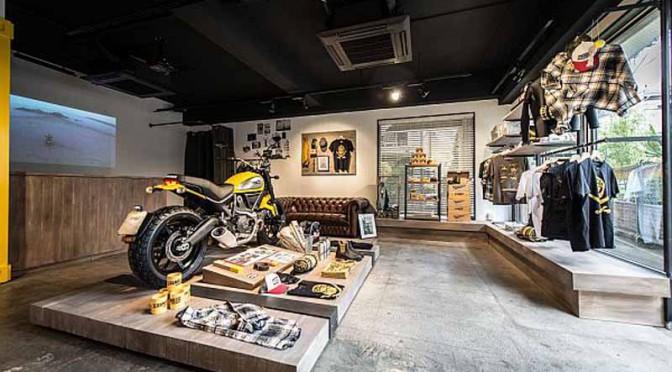 ドゥカティスクランブラー コンセプトストア「Ducati Scrambler 原宿」オープン