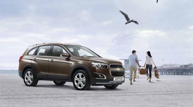 GMジャパン、7座席ミッドサイズSUVシボレー キャプティバ30台限定発売