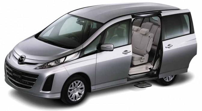マツダ、福祉車両を広島市の社会福祉団体に贈呈