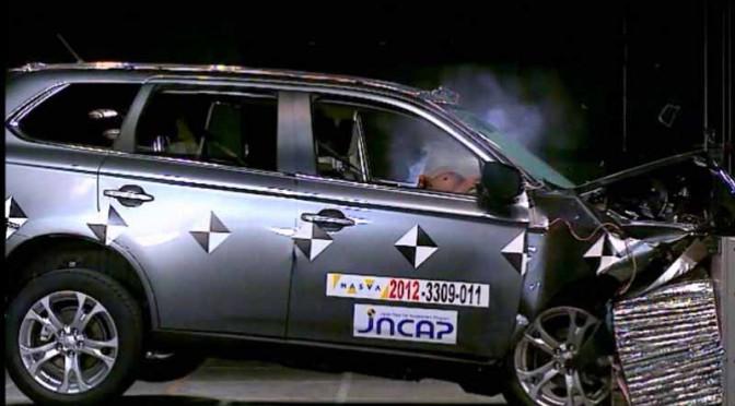 国土交通省、平成26年度自動車(製品)安全性能、評価結果