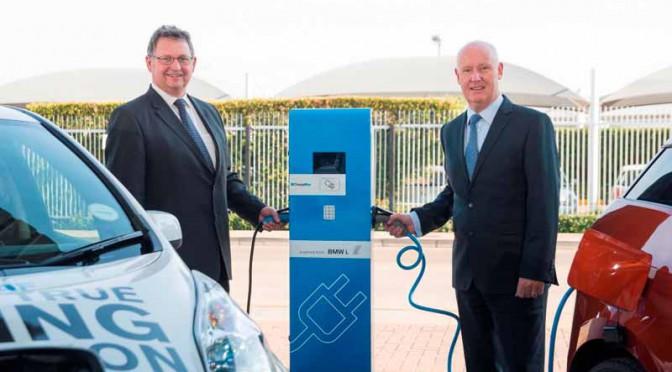 日産とBMW 、南アフリカでEV充電インフラ拡充に合意
