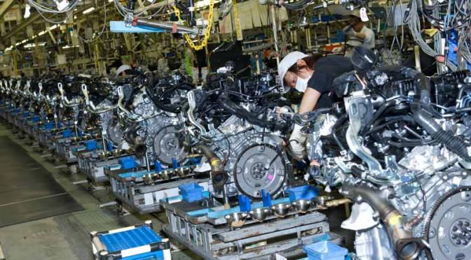 日産、2015年4月度、四輪車生産・販売・輸出実績