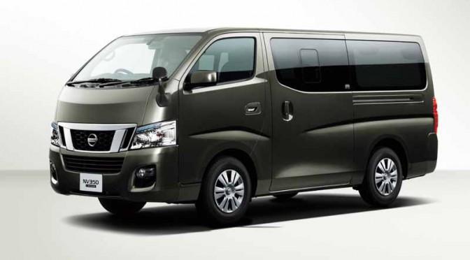 日産、NV350キャラバン トランスポーターの仕様を一部刷新