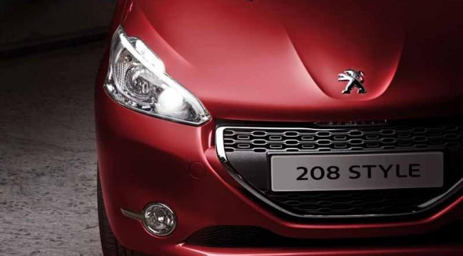 プジョー、特別限定車「208 Style」を発売