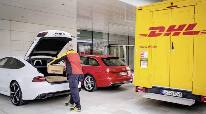 アウディ、愛車のトランクに宅配便を届けるサービスを開始