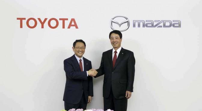 トヨタとマツダ、業務提携に向けて正式に基本合意