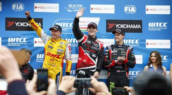 WTCC第3戦ハンガリーのレース2、ホンダシビック今シーズン初優勝