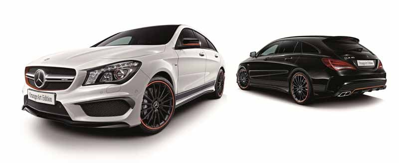 Mercedes Benz Japan announced the %22CLA Shooting Brake OrangeArt Edition%22-1-min