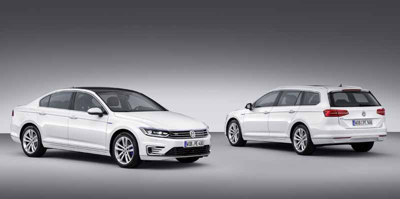 VW, orders the start of the Passat GTE · plug-in hybrid in the European market-8-min