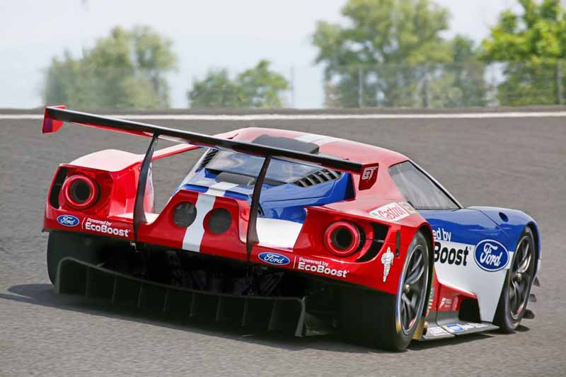 Ford, the war declaration in next year's Le Mans 24 hours endurance race-2-min