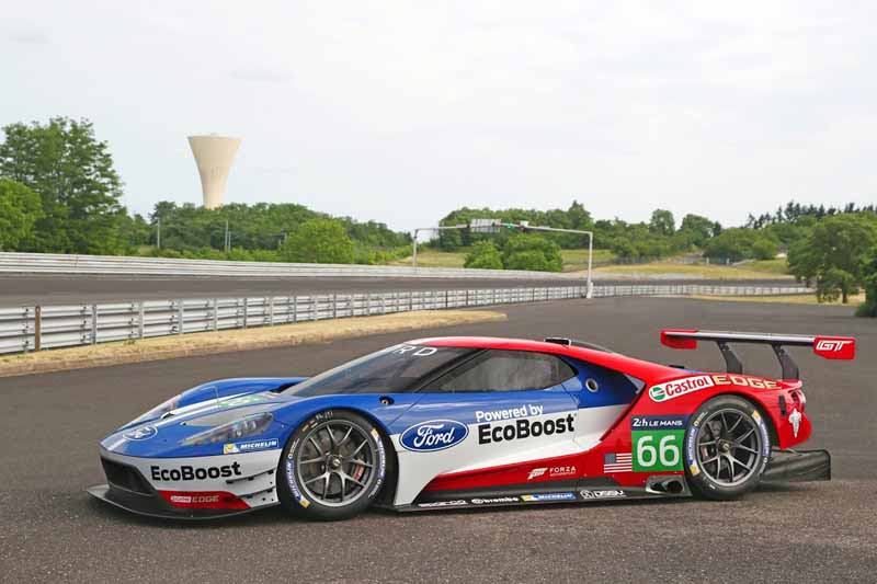 Ford, the war declaration in next year's Le Mans 24 hours endurance race-4-min