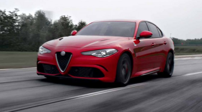 New Alfa Romeo Giulia(新型アルファ ロメオ ジュリア)走行映像公開