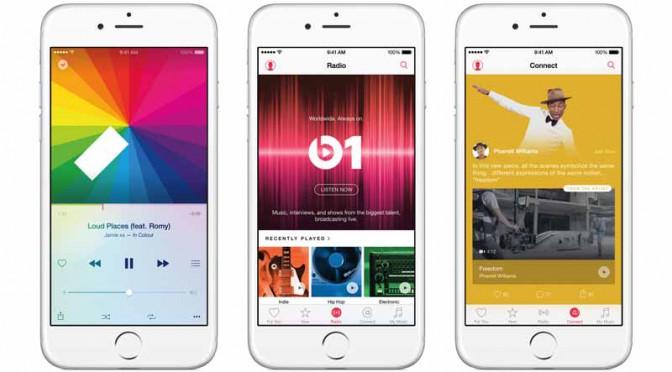 アップル、音楽を集約し直観的に使えるアプリApple Music発表、6月30日全世界デビュー