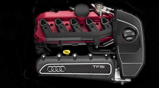 アウディの2.5TFSIエンジン、インターナショナル・エンジン・オブ・ザ・イヤー6年連続受賞