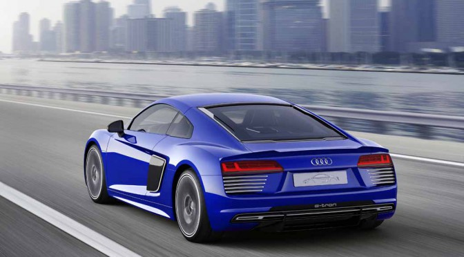 アウディ、Audi R8 e-tronいよいよ受注開始へ