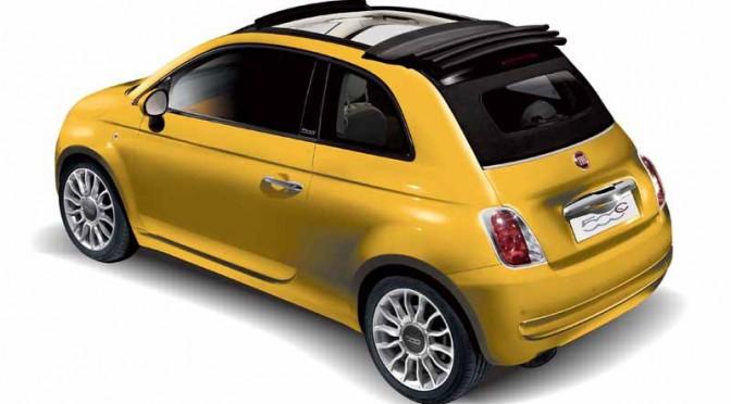 FCAジャパン、Fiat 500/500C Gialla(ジャッラ)発売