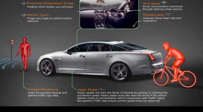 英ジャガー・ランドローバー、ドライバーの脳波測定技術など開発中の安全技術を語る