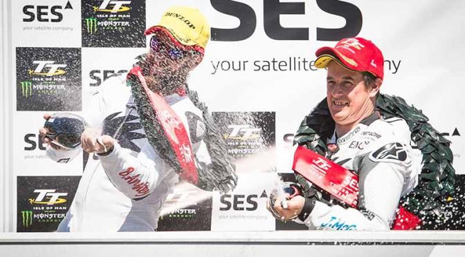 マクセル製電源搭載の無限二輪レーサー、マン島TTレース連覇
