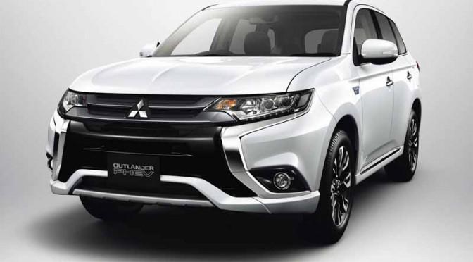 三菱自動車、新型アウトランダーPHEV/アウトランダー発売