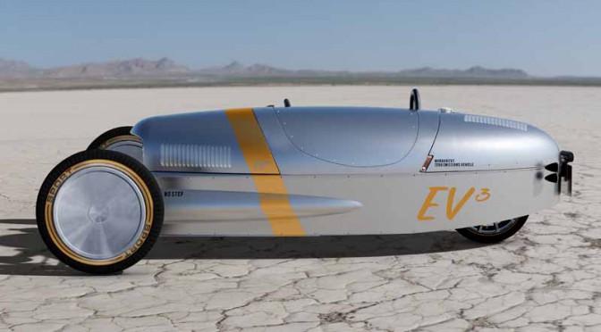 モーガン、英国のモーターフェスで電動3輪車「EV3コンセプト」を公表