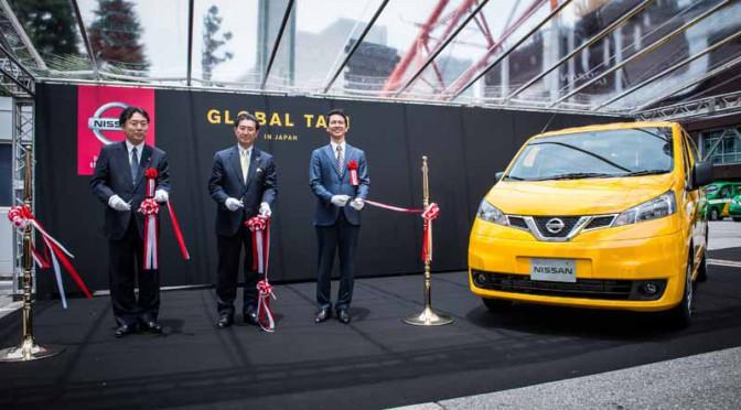 日産、NV200タクシー出発式を東京で実施