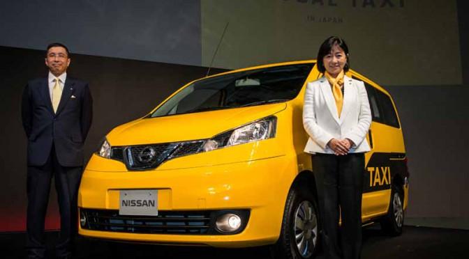 日産「NV200タクシー」初乗り無料チケットを都内で配布