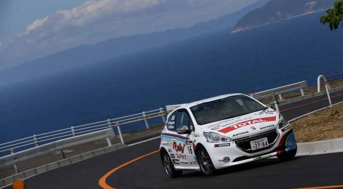 プジョー 208 GTi、全日本ラリー選手権第3戦でクラス4位