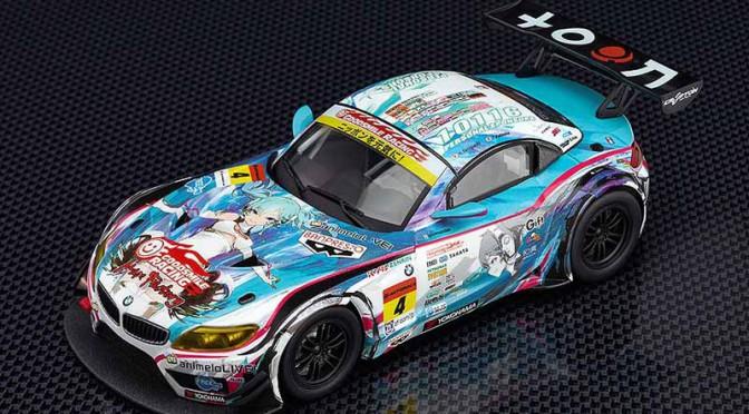 SUPER GT2014、GT300チャンピオン「グッドスマイル初音ミクBMW」がミニカーに
