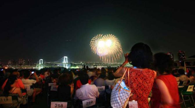 プラチナシートの東京湾大華火祭鑑賞プレミアムディナー販売8/8限定