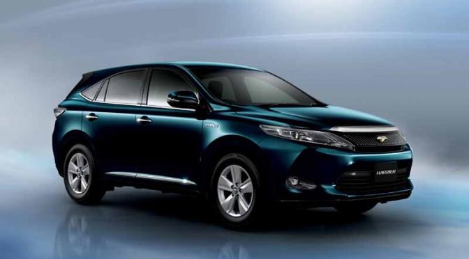 トヨタ、ハリアーを一部改良、特別仕様車も追加発売