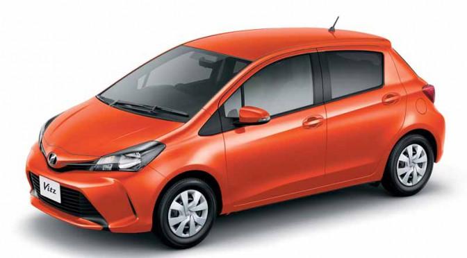 トヨタ、ヴィッツを一部改良「Toyota Safety Sense C」搭載