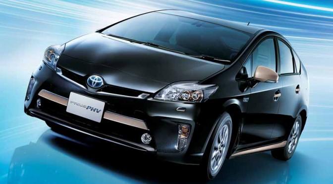 トヨタ、プリウスPHVを一部改良して発売