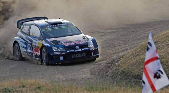 VW、WRC第6戦オジェ選手・逆転優勝、今期5勝目