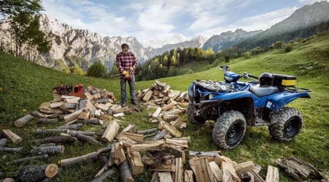 ヤマハ、新4輪バキー(ATV)の「Grizzly」を北米市場で発売